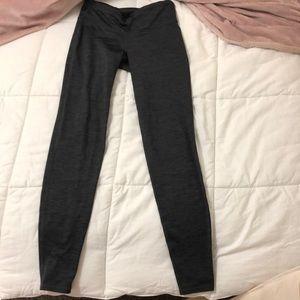Grey active leggings